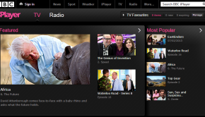 This is a screenshot of the BBC iPlayer website.