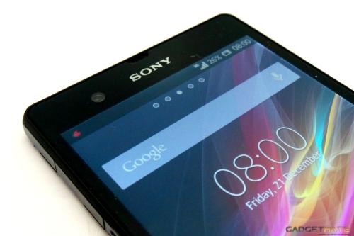 Sony Xperia Z front