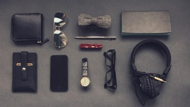 Purse Men's Equipment Music Iphone Gadgets Office